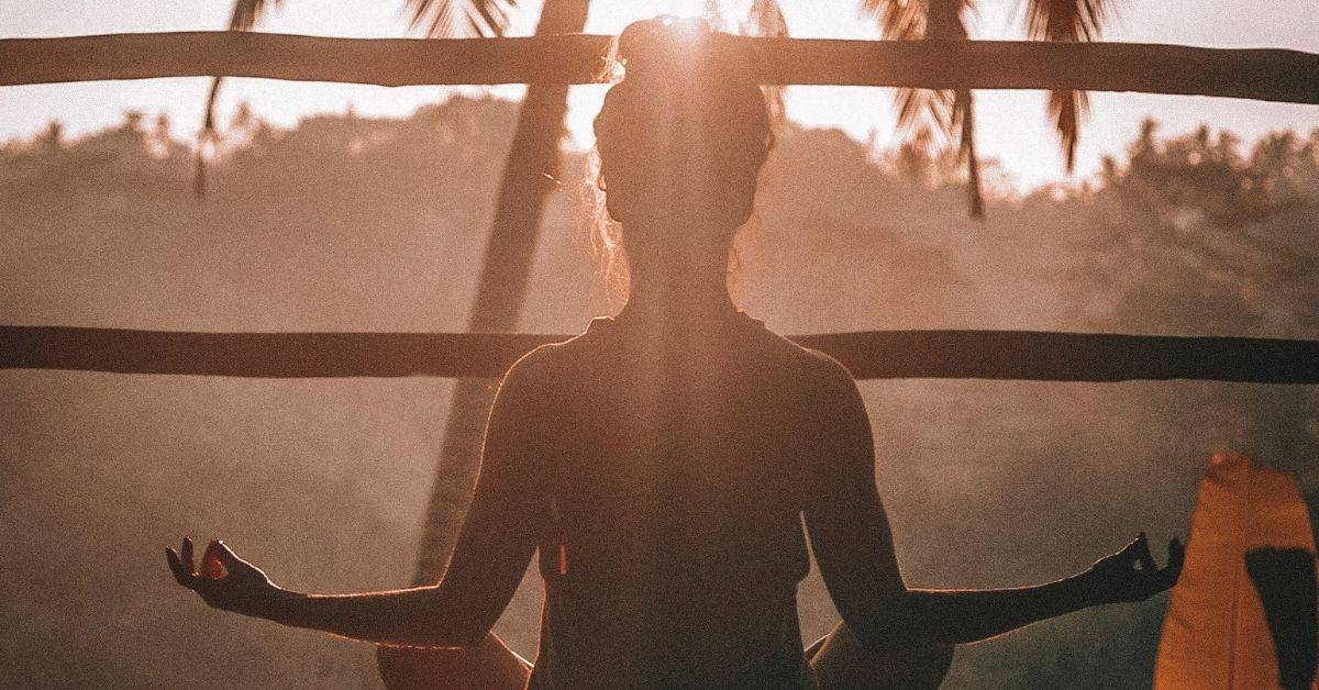 MEDITATE TO LET GO OF STRESS