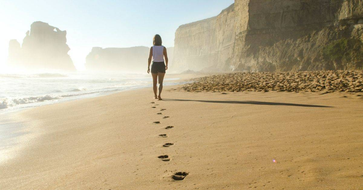 start living by walking every day