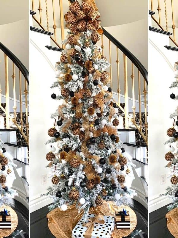 The Best Leopard Christmas Tree To Copy This Year