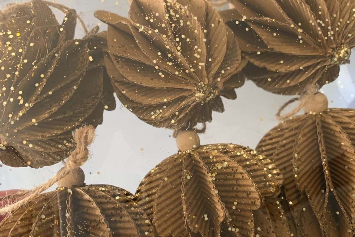 best sparkly gold christmas ornaments