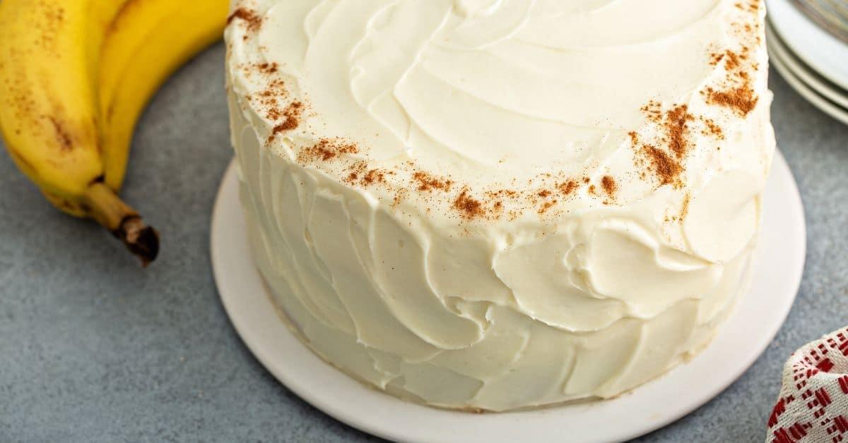 Best banana cream cake recipe