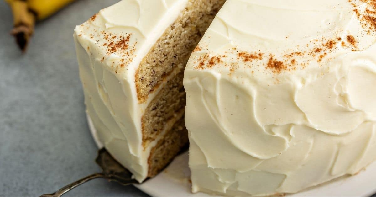 layer banana cake