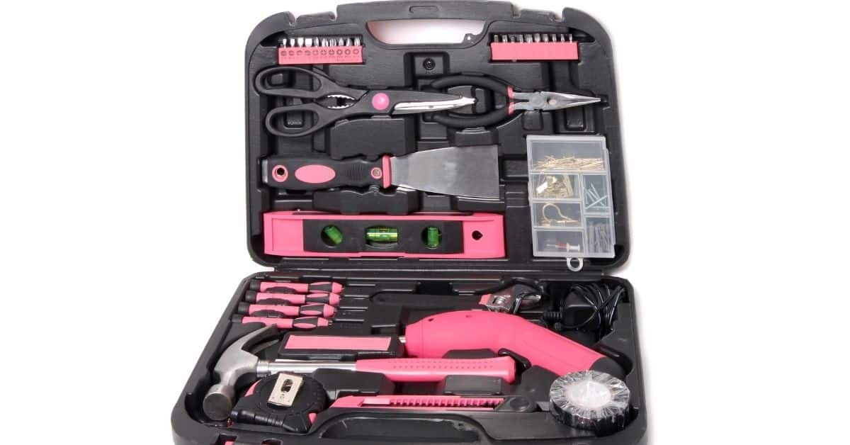 pink tool gifts for her