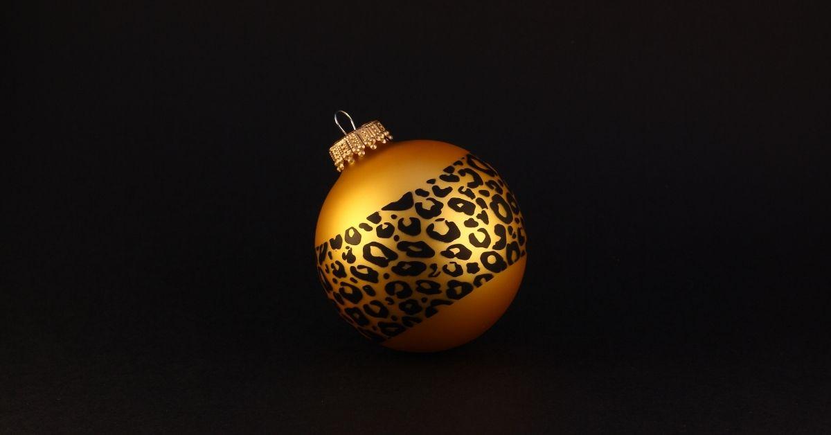 leopard ornaments