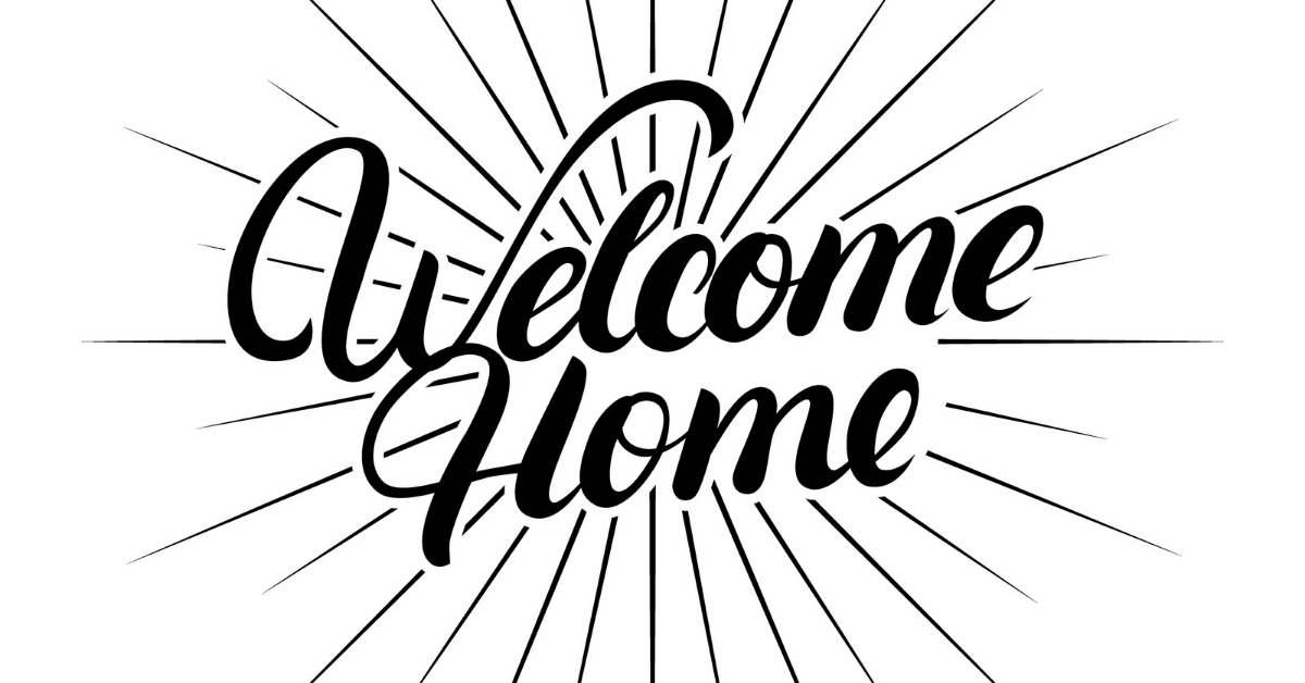 welcome home gift card