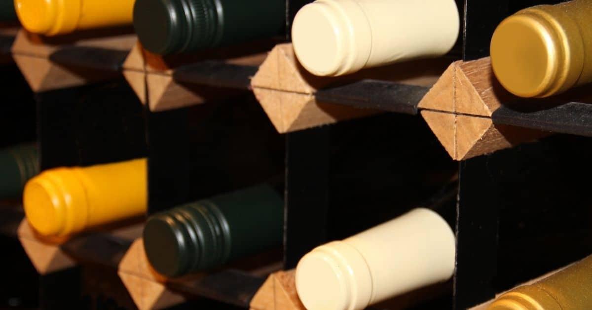 wine rack gift set