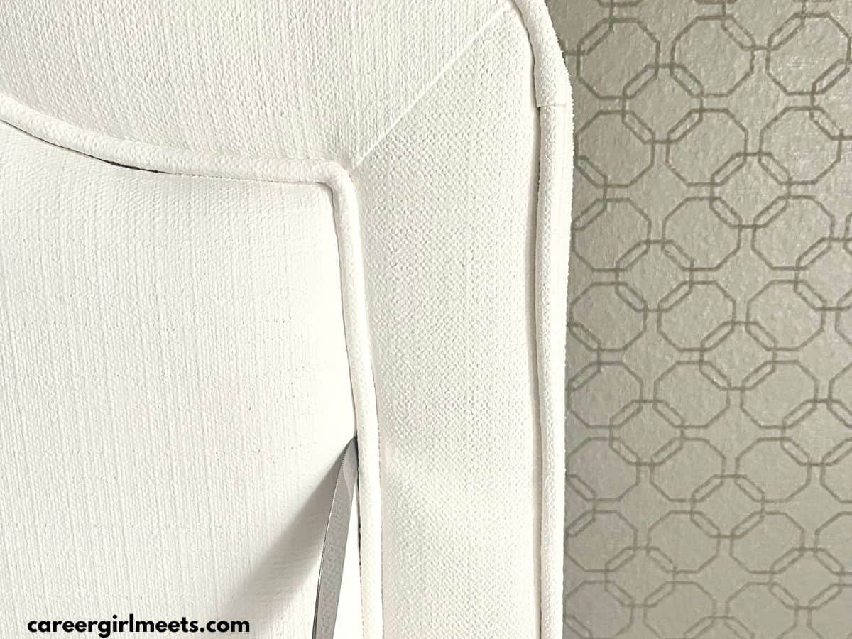 bed fabric crevices