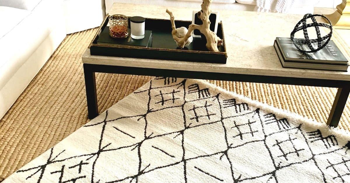 rug layering diy