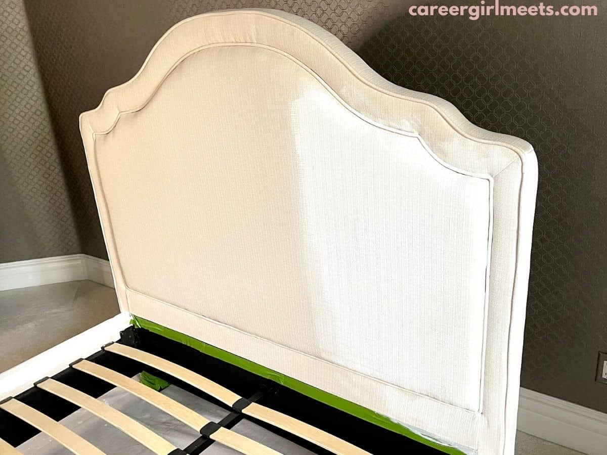 painting bed upholstery