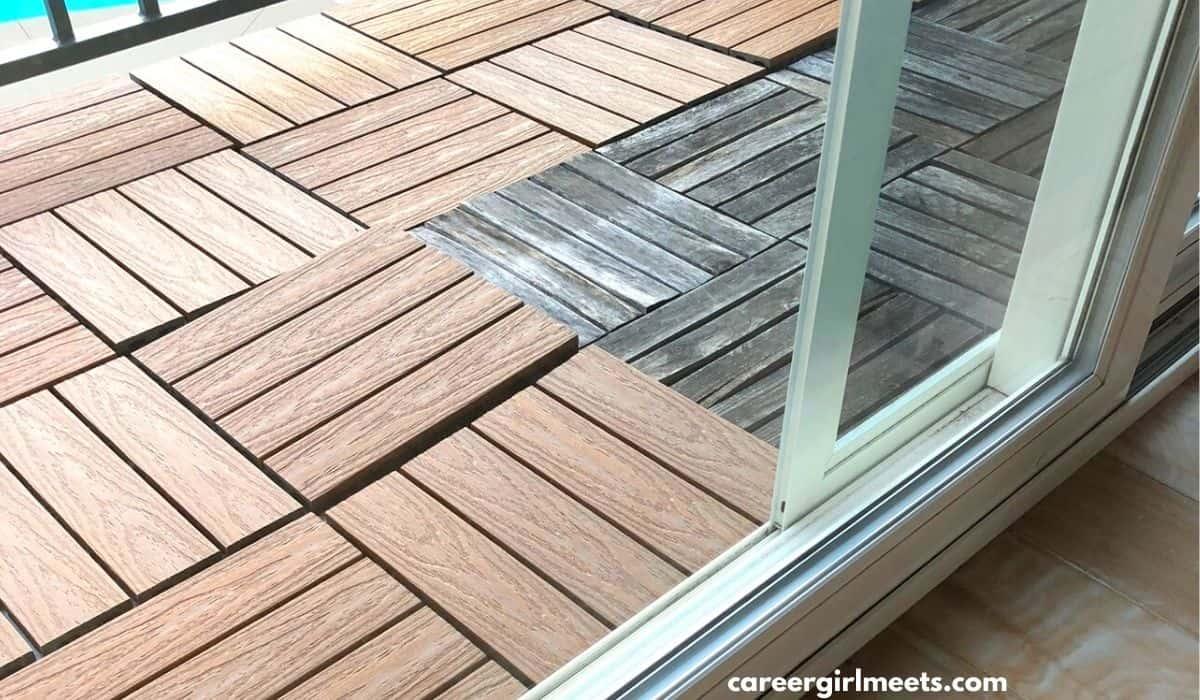 backyard patio floor