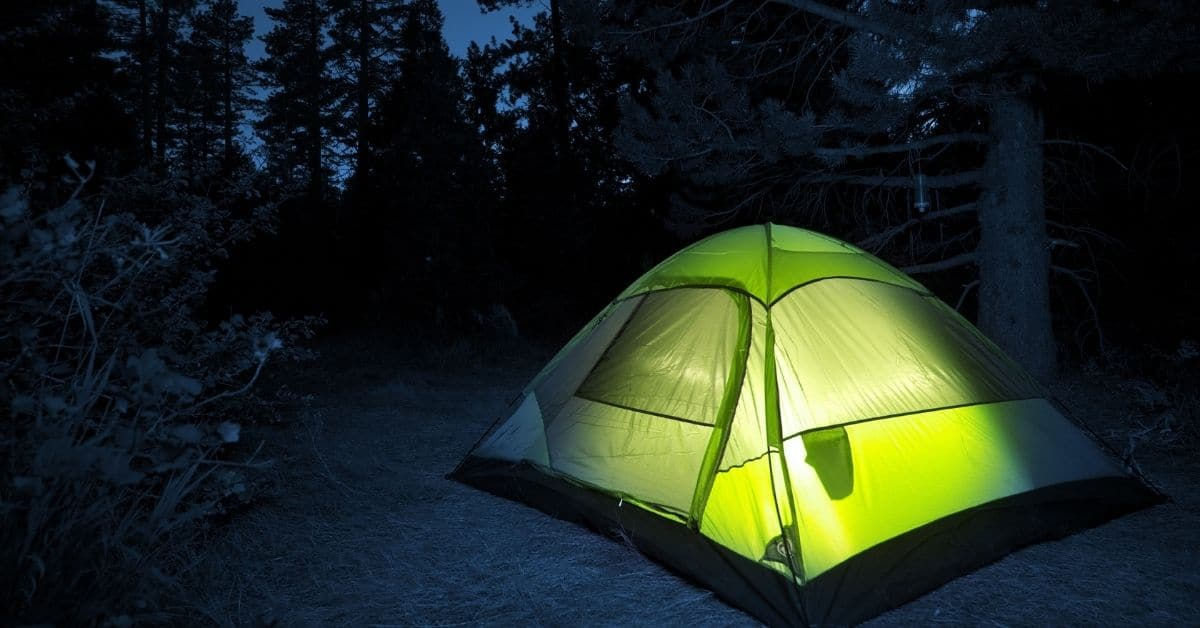 tent for dad