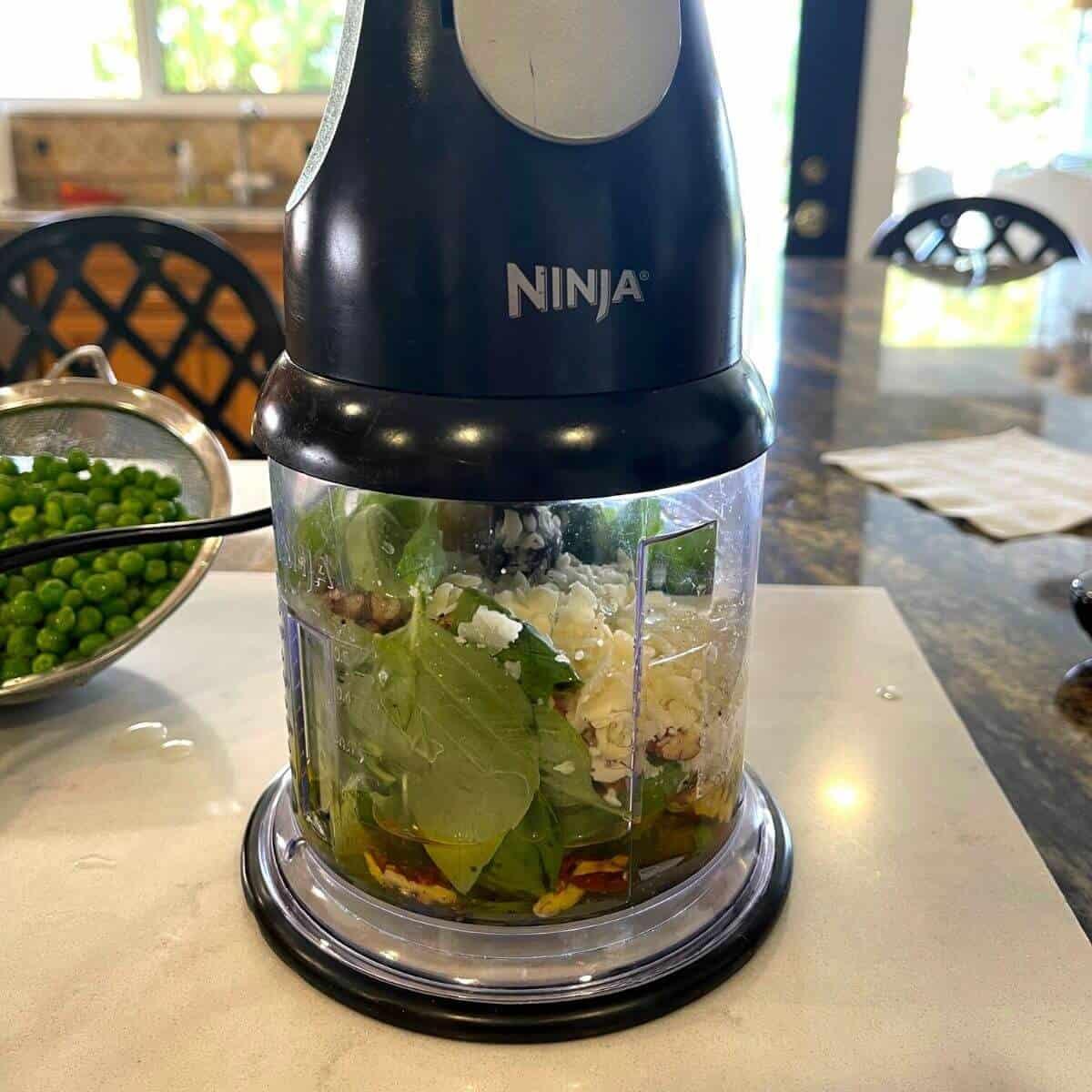 ninja food blender pesto
