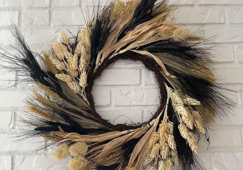 DIY Wreath: How To Make A Cheap Wreath Look Expensive
