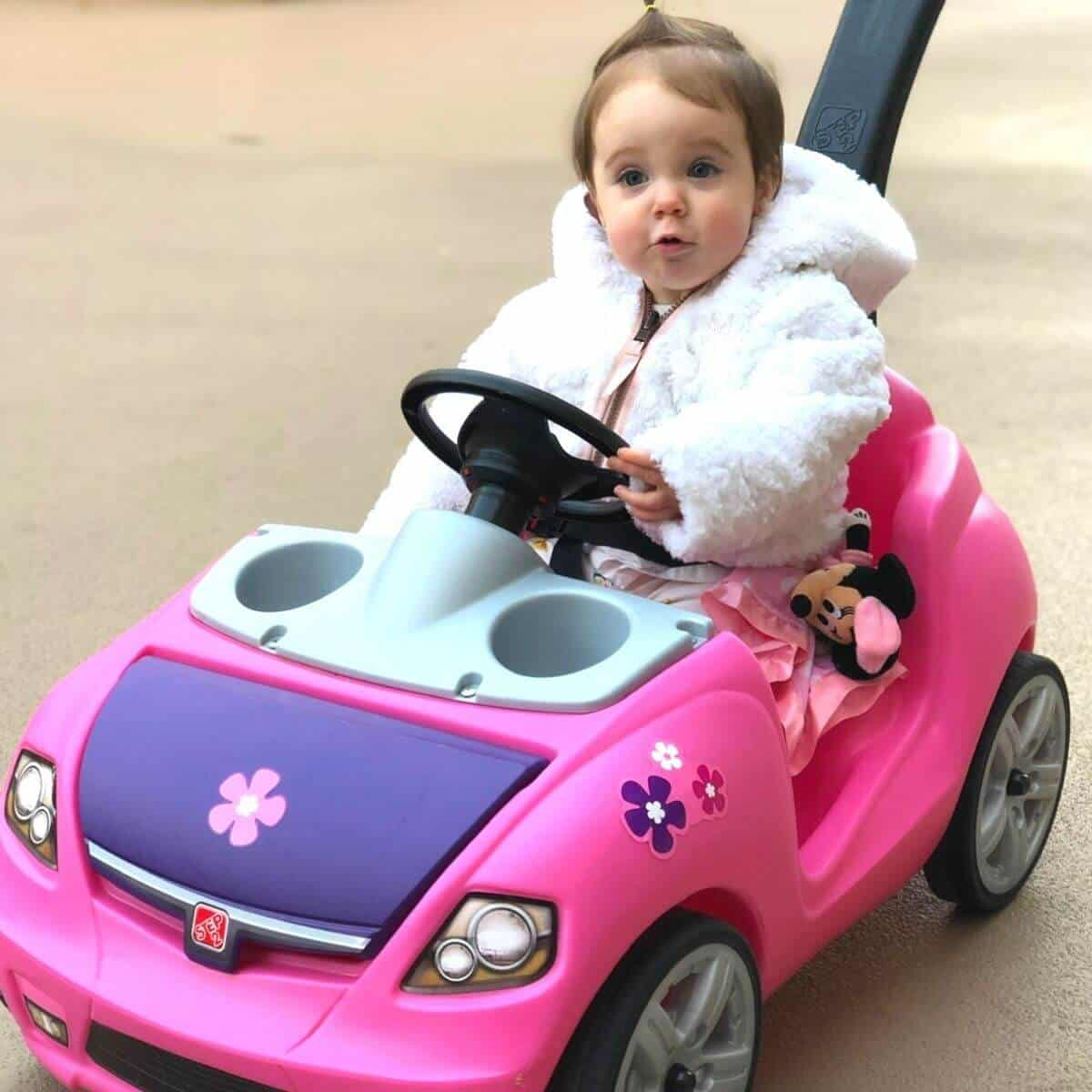 toddlers first car