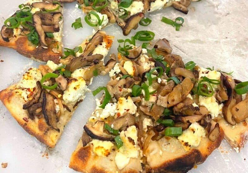 Ricotta White Pizza